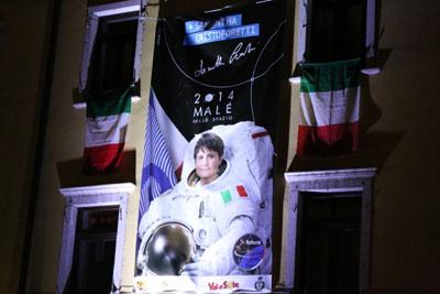 Il Trentino nello spazio con #Astrosamantha