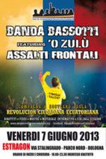 Banda Bassotti feat. O'Zulu e gli Assalti Frontali in concerto a sostegno della Revolucion Ciudadiana