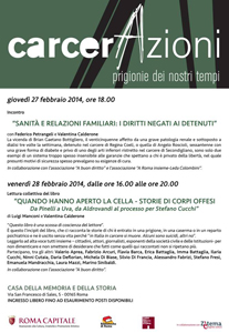 Casa della Memoria di Roma, i prossimi appuntamenti di febbraio 2014