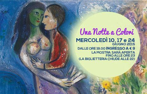 Chagall. Love And Life, la mostra al Chiostro del Bramante. Apertura straordinaria