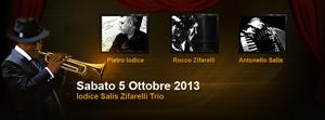 Iodice Salis Zifarelli Trio sotto ai riflettori del Bar Italia Jazz Club di Cassino