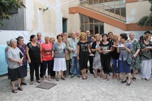 Festa alla casa di riposo Curzio Salvini di Terracina