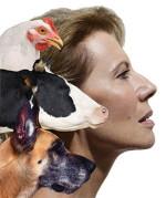 Daniela Poggi in Anima Animale ai Giardini della Filarmonica Romana