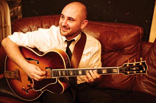 Daniele Cordisco in concerto all'Alexanderplatz di Roma