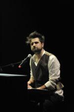 Daniele Ronda sul palco del concertone del  primo maggio a Roma