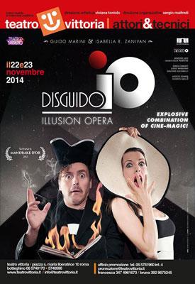 Disguido, il magico duo approda al Teatro Vittoria di Roma
