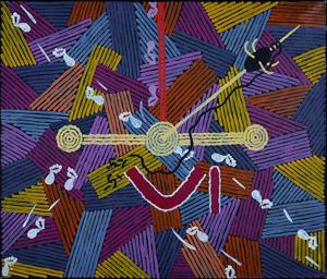 Dreamings. L'Arte Aborigena Australiana incontra de Chirico al Museo Carlo Bilotti di Roma