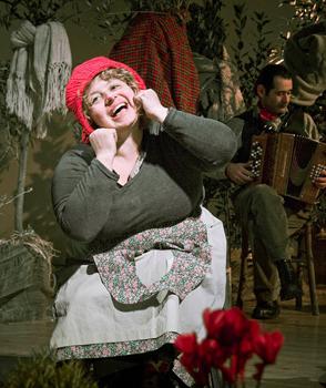 A teatro con baratto per lo spettacolo Orti Insorti di Elena Guerrini al Festival Storie di Lavoro