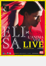 Elisa in concerto evento all'Arena di Verona