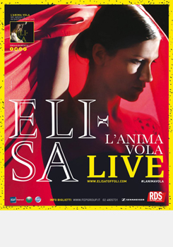 Elisa in concerto evento all'Arena di Verona