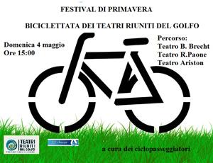 Festival di primavera, ultima giornata. Mostra – mercato, pranzo sociale, biciclettata, tai chi, musica e molto altro