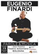 Eugenio Finardi sbarca a Bologna