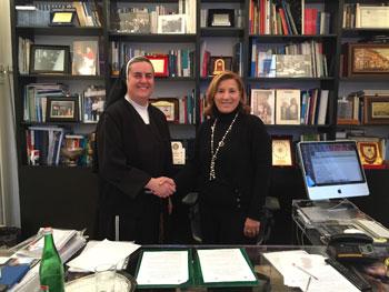Siglato accordo tra Università Antonianum e Università Uninettuno
