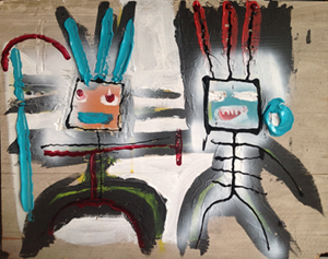 Guerreros Y Diablos, la mostra di Gian Luca Gentili