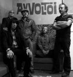 Gli Avvoltoi sul palco del BOtanique 5.0 di Bologna