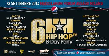 Hip Hop Tv B-Day Party, i più grandi artisti del rap italiano in un'unica serata al Mediolanum Forum di Assago