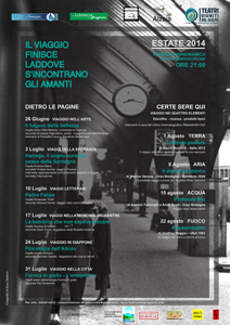Il viaggio finisce laddove si incontrano gli amanti sulla Terrazza Panoramica Teatro Remigio Paone di Formia
