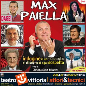 Indagine di un musicista al di sopra di ogni sospetto, uno spettacolo di parole musica e risate. Appuntamento al Teatro Vittoria di Roma