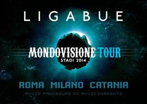 Ligabue, Mondovisione Tour – Stadi 2014, raddoppia la data di Catania.  Al via la prevendite per gli altri appuntamenti
