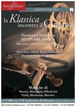 La NuovaKlassica con il concerto La Klassica incontra il cinema all'Auditorium Massimo di Roma