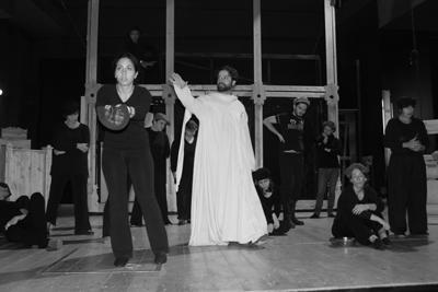 La leggenda del grande inquisitore, prima internazionale al Teatro Remigio Paone di Formia