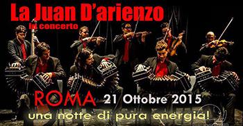 """L'Orchestra di Tango Argentino tipica """"La Juan D'Arienzo"""" in concero"""