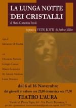 La Lunga notte dei cristalli in scena al Teatro L'Aura di Roma