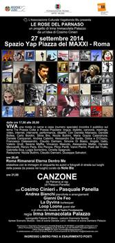 Le Rose Del Parnaso, kermesse poetica delle arti contemporanee al via a Roma con un calendario di appuntamenti straordinario