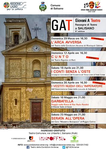 I Conti senza l'Oste, la commedia brillante a Salisano con la Rassegna Teatrale dell'Officina Culturale della Bassa Sabina