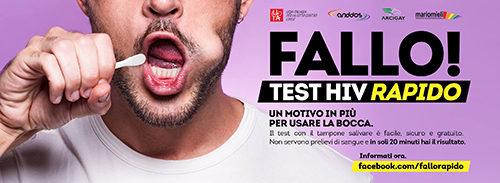 Hiv, test salivare gratuito