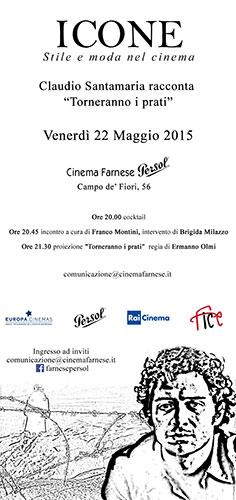 Torneranno i prati, il film di Ermanno Olmi, sulla Prima Guerra Mondiale al Cinema Farnese Persol di Roma