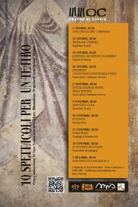 Dieci spettacoli per un Teatro, al via la V edizione rassegna degli spettacoli a Toffia