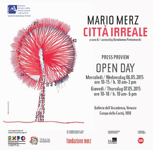 Mario Merz – Città Irreale, la mostra allestita negli spazi delle Gallerie dell'Accademia di Venezia