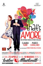 That's amore ultima spassosa commedia di stagione al Teatro Martinit