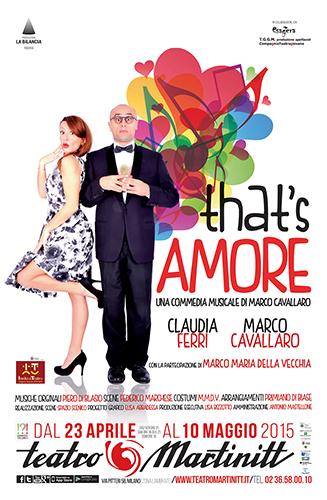That's amore ultima spassosa commedia di stagione al Teatro Martinit