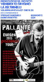 "Europa 2015, ""Pazzesco Tour""dal 14 giugno"