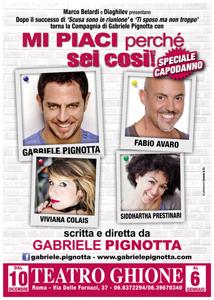 Mi piaci perchè sei così, la nuova diverte commedia in scena al Teatro Ghione di Roma