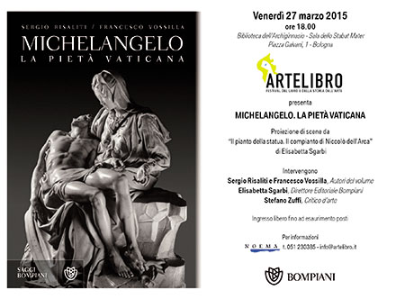 Michelangelo. La Pietà Vaticana, il libro di Sergio Risaliti e Francesco Vossilla