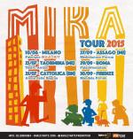 Mika, a grande richiesta 5 nuovi concerti in Italia