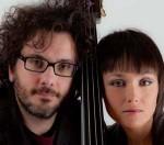 Il duo Musica Nuda, alias Petra Magoni e Ferruccio Spinetti al Milano Jazzin Festival