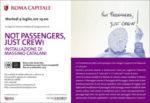 Not Passengers, Just Crew! Installazione di Massimo Catalani