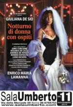 Notturno di donna con ospiti, lo spettacolo in scena al Teatro Sala Umberto di Roma