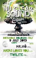 Nu-Clear Sound Europavox Editino al BOtanique di Bologna