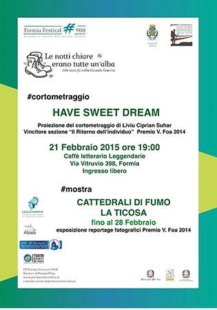 Oltre il Formia Festival '900, proiezione del corto e mostra dei reportage fotografici. Appuntamento al Caffè Letterario Leggendarie di Formia