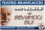 Paolo Villaggio, aperitivo al Brancaccio di Roma