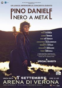 Pino Daniele all'Arena di Verona con lo spettacolo Nero a Metà