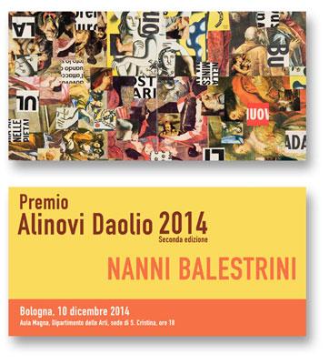 Premio Alinovi Daolio 2014, al via la seconda edizione. Vince Nanni Balestrini