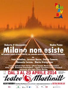 Milano non esiste. E il paradiso esiste? Una commedia divertente in scena al Teatro Martinitt di Milano