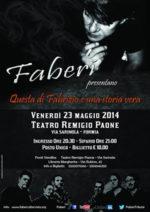 Quella di Fabrizio e' una storia vera. Fabbri, l'omaggio a De Andre'. Appuntamento al Teatro Remigio Paone di Formia