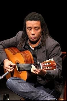 Robertinho De Paula il chitarrista brasiliano ospite degli Agora Ta' di Danilo Blaiotta